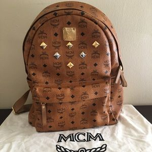 Authentic MCM Backpack good used condition dustbag